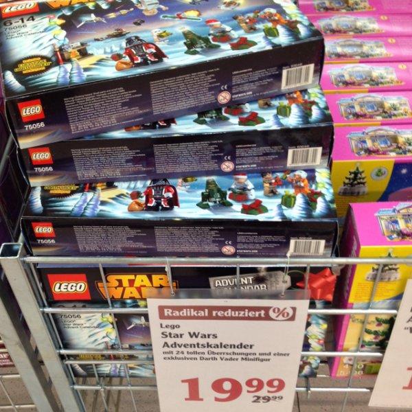 Adventskalender lego Star Wars 2014 für 19,99€ bei Globus (Lokal?)