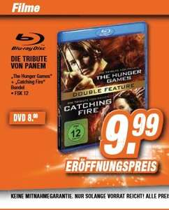 [Lokal Region Hannover] Die Tribute von Panem - Double Feature (Hunger Games/Catching Fire) - Blu Ray/DVD