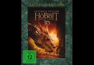 (evtl. lokal Hannover) Der Hobbit: Smaugs Einöde (Extended) Blu-ray 2D 19 €; 3D 26 € @ Media Markt