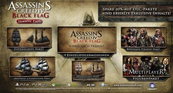 Assassin's Creed Black Flag Season Pass (PC) für 6,78 € direkt im Ubisoft-Store