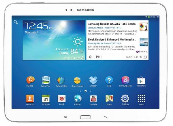 Samsung Galaxy Tab3 10.1 P5210 16GB WiFi weiß white (B-Ware) @ smallbug_de zu 173,36 Euro inkl. Versand