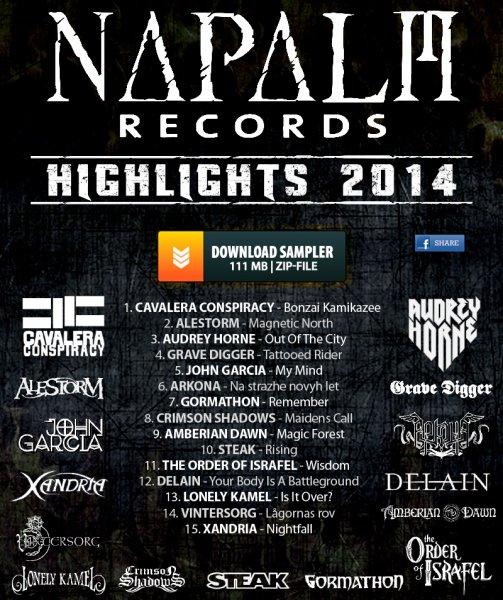 [Gratis MP3-Sampler] Napalm Records Highlights 2014 @Facebook