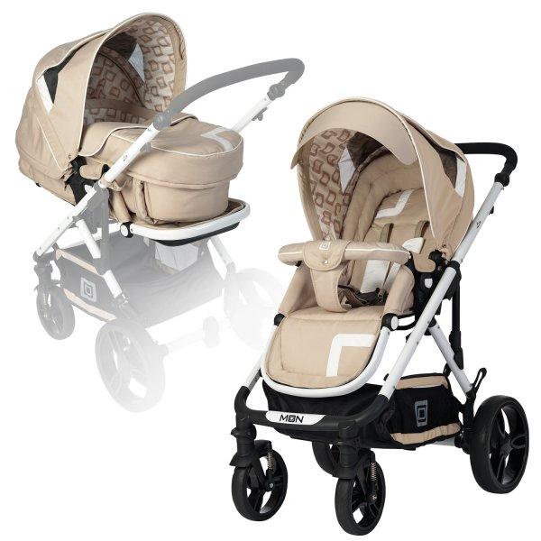 MOON LEO Kinderwagen Set mit 3in1 Tragetasche für 169,00 Euro