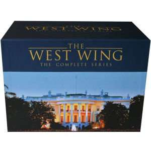 (UK) The West Wing – Im Zentrum der Macht -O-Ton- (43 x DVD) für 44.45€ @ Zavvi