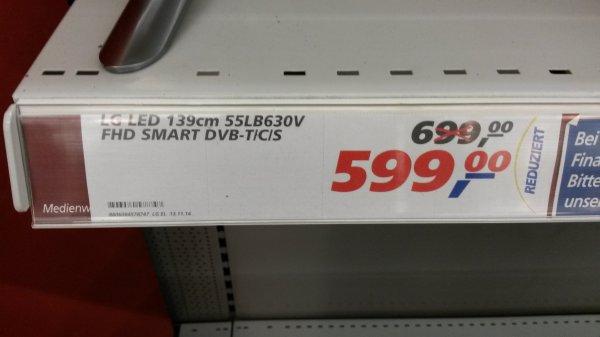 LG 55LB630V bei real nur noch 599€!
