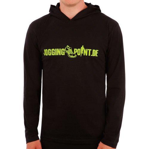 [Jogging-Point.de] Longsleeve Shirt mit Hoody schwarz nur 4,90€ statt 29,95€