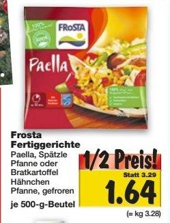 [KAUFLAND Bundesweit (außer Südbayern und BW] Frosta Fertiggerichte (ab 17.11.) für 50%
