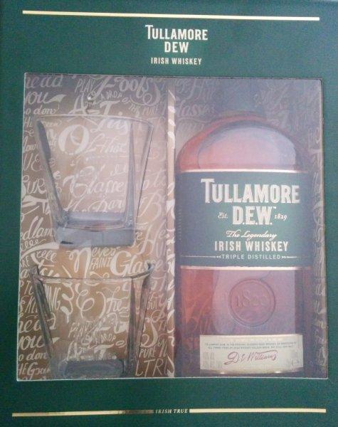 real (bundesweit?) - Tullamore Dew Irish Whiskey inkl. 2 Gläsern - 11,99 €
