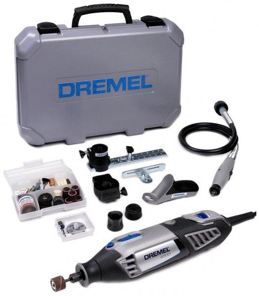 Dremel 4000-4/65 Multifunktionsgerät 175 Watt, 4 Vorsatzgeräte, 65 Zubehöre inkl. Koffer für 99,51 € @Amazon.fr