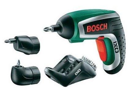 Bosch IXO IV SET Upgrade Akku-Schrauber inkl. Winkel- und Excenteradapter bei Conrad für 42,89 Euro
