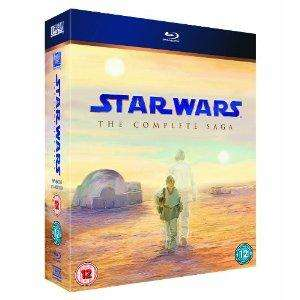 Star Wars: The Complete Saga (Episodes I-VI) Ltd. Edition Film Cell [Blu-ray]