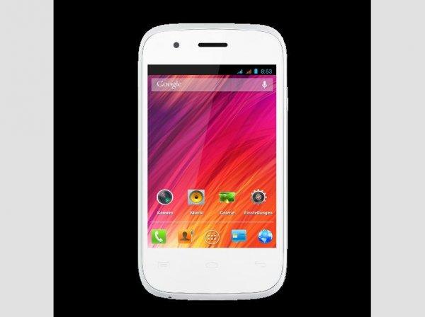Wiko Ozzy weiss Dual-Sim Smartphone mit GS für 38,89€ @Conrad