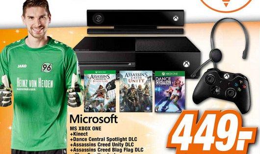 [Garbsen] Xbox One Kinect Bundle mit 3 Spiele