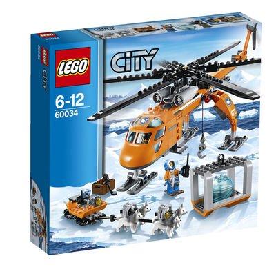 LEGO® City Arktis Helikopter mit Hundeschlitten 60034 für 21,24€ - 0,54€ Qipu [Karstadt online]