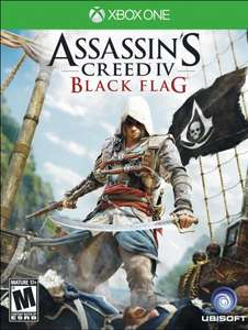 [XBOX ONE ] Assassin's Creed IV Black Flag Full Game Download für 9,90 EUR