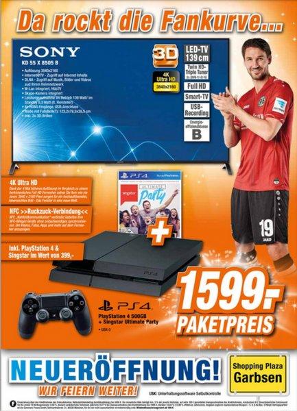 [LOKAL] Sony KD55X8505B + PS4+Singstar