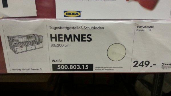 Ikea Hemnes Tages Bettgestell - 149€ anstelle 249€