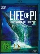 [Blu-ray] Life of Pi - Schiffbruch mit Tiger + Abraham Lincoln Vampirjäger [3D] @ CeDe.de