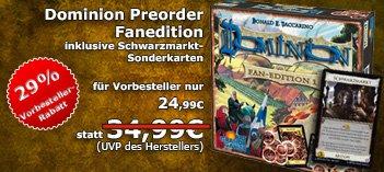 Dominion Gesellschaftsspiel Fan Edition !