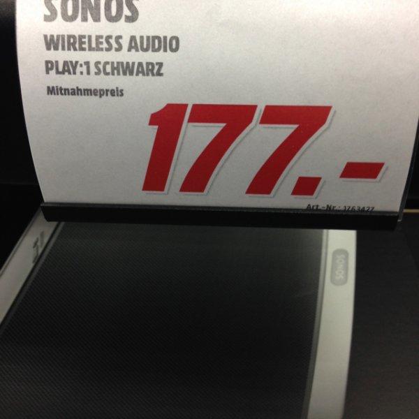 Lokal - Sonos Play 1 schwarz