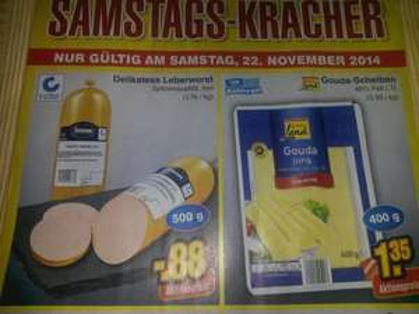 (Netto) 400 g Gouda Jung für 1,35 Euro