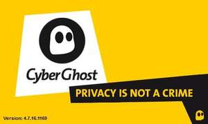 Cyberghost Premium Plus VPN 12 Monate- ALLE SERVER-