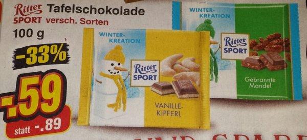 Ritter Sport Tafelschokolade[Netto Markt]