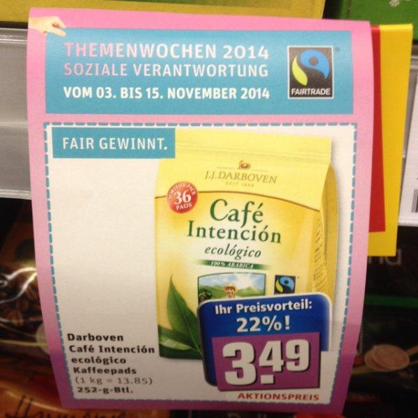 Nachhaltigkeitswochen bei Rewe (deutschlandweit) auf Kaffee, etc. -> 12% bis 22% noch bis 15.Nov reduziert!