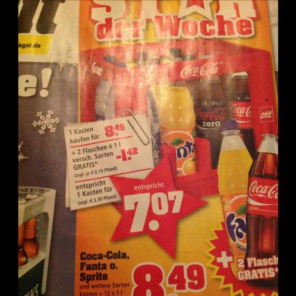Trinkgut, Cole Fanta usw
