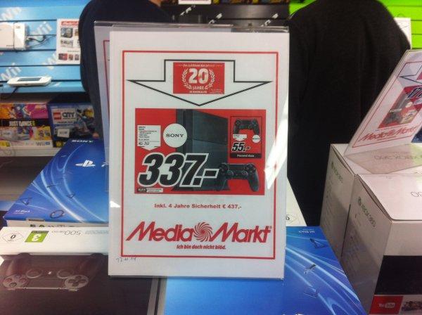 Ps4 für 337 € im Media Markt Ravensburg (Lokal) 20 jahre Jubiläumsspecial
