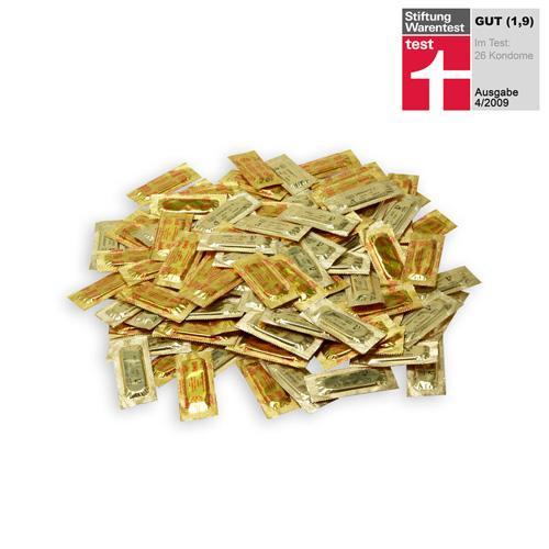 100x Kondome von Eis.de  (Test 1,9 (gut)) für 5,23€  (8,18€ mit Versand) !  Bis Sonntag 25% extra Rabatt auf alle Kondome, Gleitmittel, Massageöle etc.