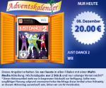 Just Dance 2 für Wii im Müller Adventskalender