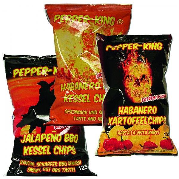 [Lokal Aachen] Pepper-King Habanero-& Jalapeno-Chips @Bahlsen-Fabrikverkauf