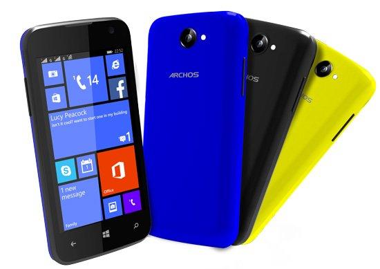 Archos Cesium 40 WP8.1 Dual SIM-Smartphone @conrad.de