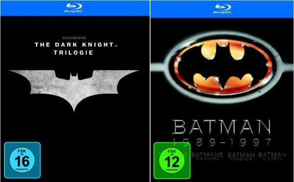 [amazon.de] Batman Blu-ray 7-Disc-Bundle für 26,94€ - Die Fledermaus-Überdosis