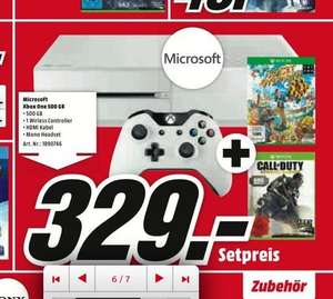 (Lokal) Xbox One weiß mit Sunset Overdrive und Call Of Duty Advanced Warfare für 329€