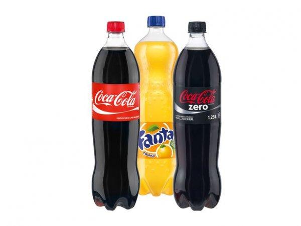 LIDL: Mo 17.11 - 22.11: Coca Cola, +Zero & Fanta: 1,25l für 0,77 €