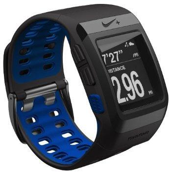 TomTom NIKE+ Sportwatch GPS anthrazit/blue für 103,84 € @Amazon.fr