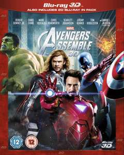 [3D BLU-RAY] Marvel's The Avengers für 12,79 bei zavvi.com (nur O-Ton!)