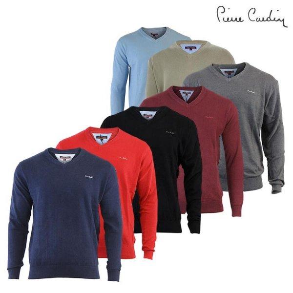 [Update] P. Cardin V-Neck Pullover in versch. Farben (100% Wolle) für jeweils 22,22€ frei Haus @DC mit 3% Qipu