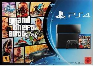 Playstation 4 + GTA 5 @ebay