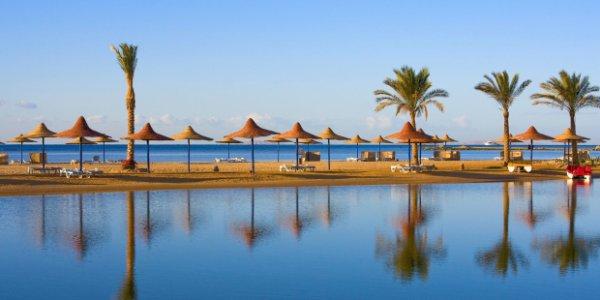 Eine Woche Ägypten im guten 5 Sterne Hotel mit All-Inclusive und Zug zum Flug für 347€!