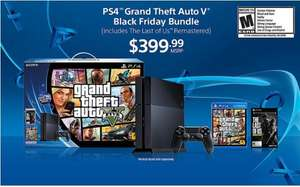 Playstation 4 + GTA 5 + The Last of Us Remastered @Amazon.com Black Friday (28.Nov)