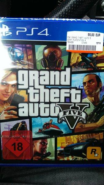 GTA V (PS4) - Heidelberg nur 55,00 Euro!