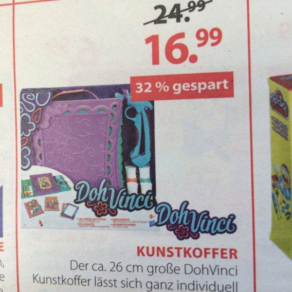 Hasbro DohVinci Kunstkoffer / Müller online und offline