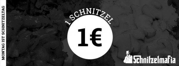 Schnitzelmafia Berlin 1 EURO pro Schnitzel !Jeden Montag das Putenschnitzel für 1€ (ca. 80% Rabatt)