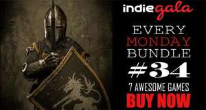[Steam] indiegala every monday bundle 34