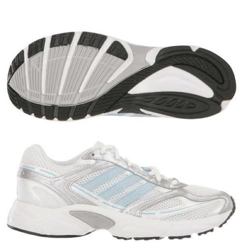 Adidas - Damen Laufschuh Interlect 4 (Weiß/Blau/Silber) Gr.39 [@Zavvi.com]