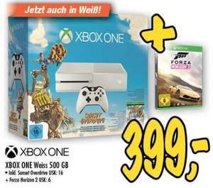 [Lokal] Xbox One weiß, 500GB, inkl. Sunset Overdrive + Forza Horizon 2