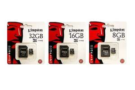 Kingston Micro SD Card und Adapter 8GB - 32GB, inkl. Versand
